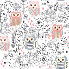 Vector seamless pattern 96651624