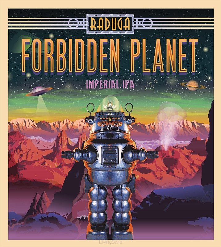 Raduga - forbidden planet