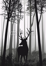Cerf Foret 44948074