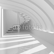 Modern hall with stairs 26063220