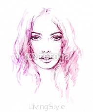 Beautiful woman. fashion illustration 106010670