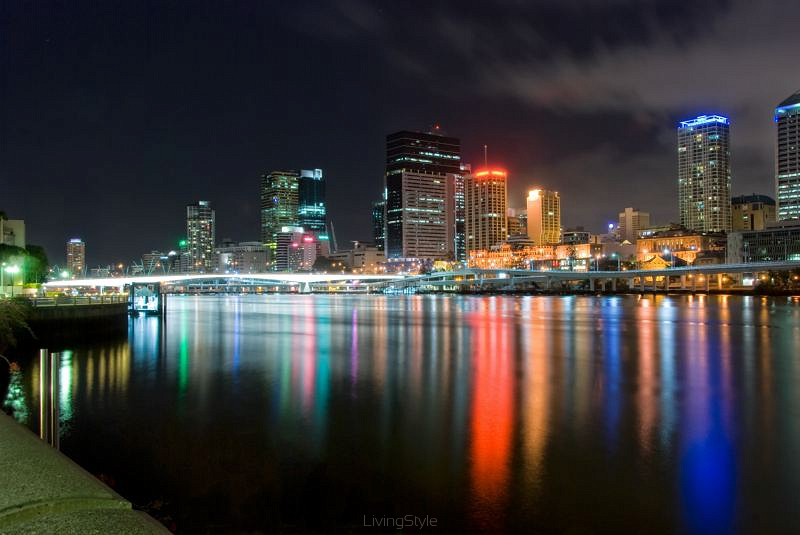 Brisbane City At Night - Queensland - Australia 41510630