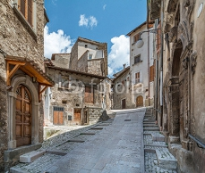 Scanno, old rural village in L'Aquila Province, Abruzzo (Italy) 121494174