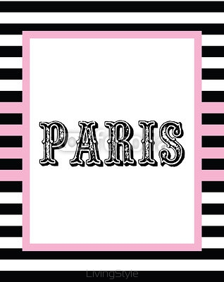 Paris print slogan. For t-shirt  or other uses, in vector. 102299111
