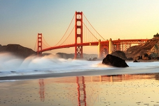 Golden Gate Bridge w San Francisco 47257361
