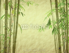 Grunge Stained Bamboo Paper Background 40904279