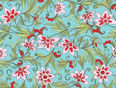 Floral seamless pattern. Flower background. Floral seamless texture. 126015555