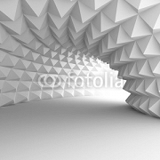 Abstract Architecture Tunnel With Light Background 89942519
