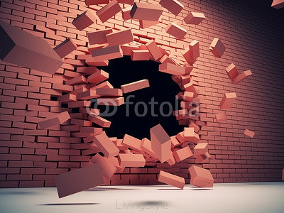 Destruction wall 46860911