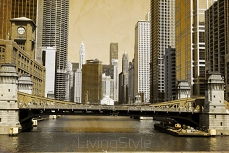 Vintage Picture Effect - Chicago 36872552