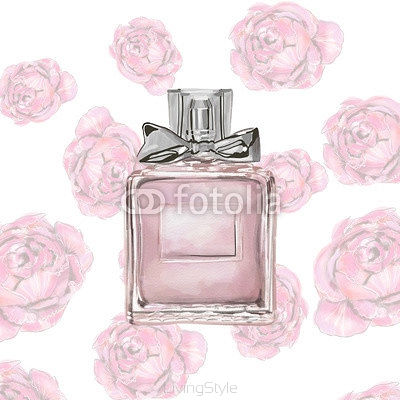 perfume watercolor 110834111