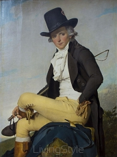 David (Jacques Louis) - PIERRE SERIZIAT PORTRET