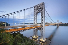 George Washington Bridge Nowy Jork. 44790276
