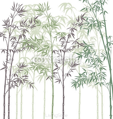 vector background with bamboo forest 41857779
