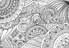 zentangle kwiaty i mandale 95040503