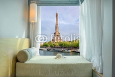 Summer, Travel, Vacation and Holiday concept - Beautiful Eiffel 111542256