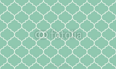 Seamless turquoise wide moroccan pattern vector 92897915