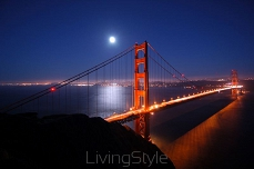 Golden Gate w nocy 124816