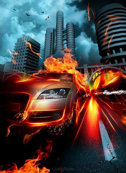 Burning Glass Road